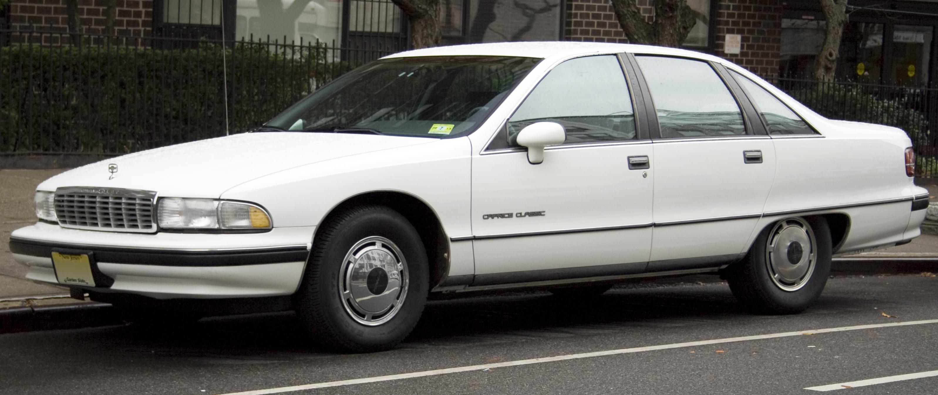1991 Chevrolet Caprice Classic Joel Reyes Noche